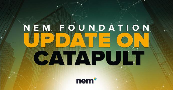 Catapult update nem foundation