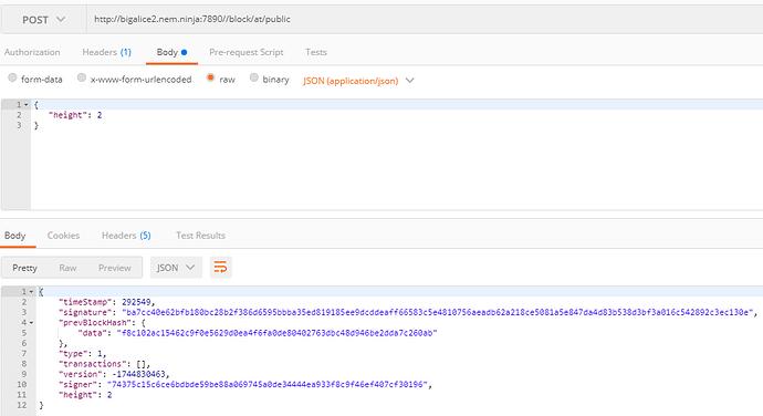 Test NEM API using postman - Technical Discussion - NEM Forum