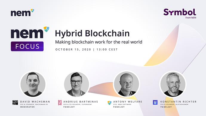 3 Hybrid Blockchain_ Speaker Introduction