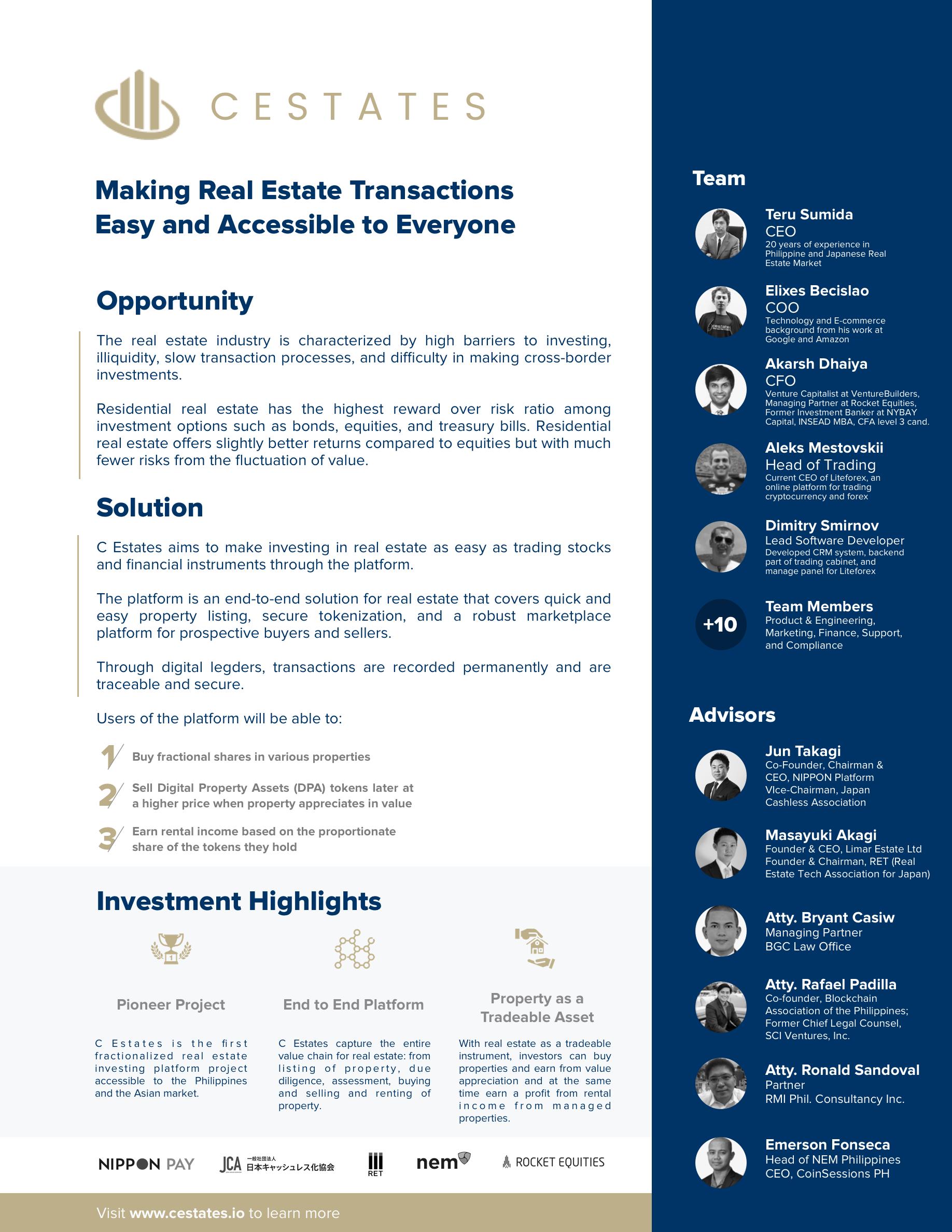Real Estate Technology Powered by NEM - General Discussion - NEM Forum